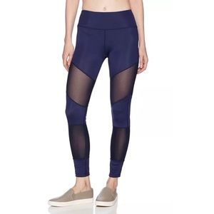 {Sam Edelman} Blue workout tights Full Length Mesh