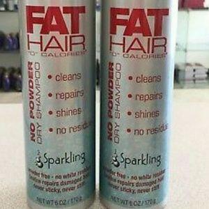 2 Samy Fat Hair no powder dry shampoo new!