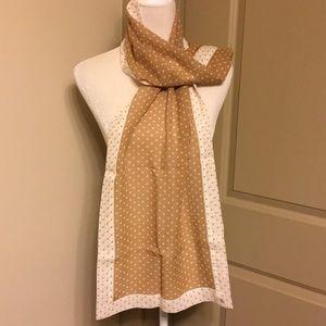 Beautiful looks dot silk chiffon oblong scarf
