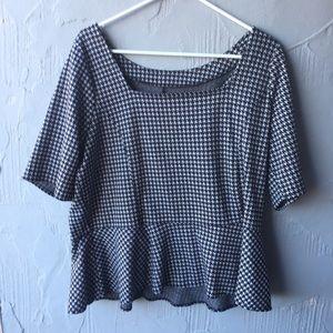 Lane Bryant peplum blouse size 18/20