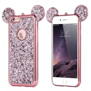 Blinged out Mickey ears phone case iPhone 7