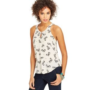 Lucky Brand motorcycle tank
