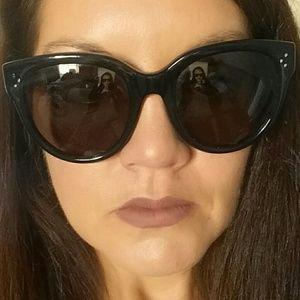 Authentic Celine Sunglasses Audrey black large