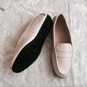 [Sam Edelman] Off White Beige Loafers