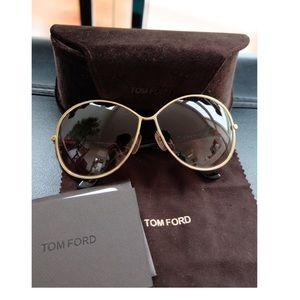 Tom Ford Women's 0180 Iris Sunglasses