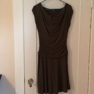 Lilla P olive cotton dress size M women's