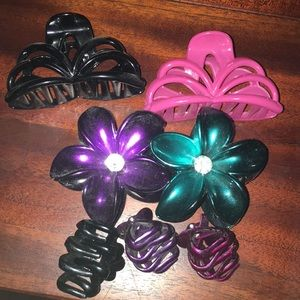 Hair clips all together