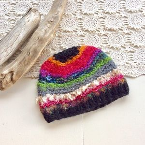 Mudd Colorful Beanie Hat