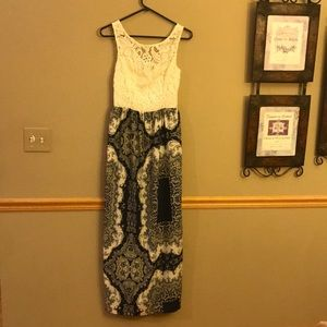 Patterned Maxi Dress from Charlotte Russe