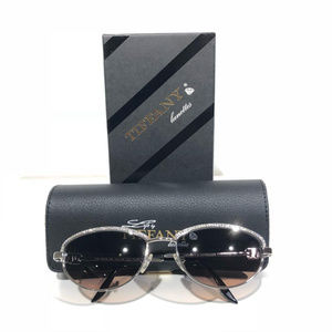 Tiffany Vintage Gold Plated Sunglasses T789