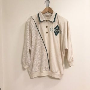 Vintage Patterned Polo