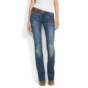 Madewell bootlegger jeans