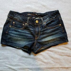 AE Cute Denim Stretch Jean Shorts