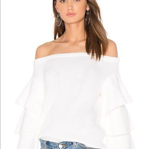 Endless Rose Off The Shoulder Sweater Top