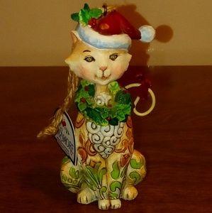Jim Shore collectible ornaments.