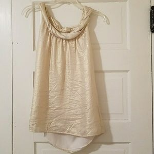 Tops - Beautiful shimmery gold tank