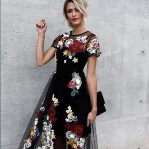 Vicicollections Floral Maxi Dress