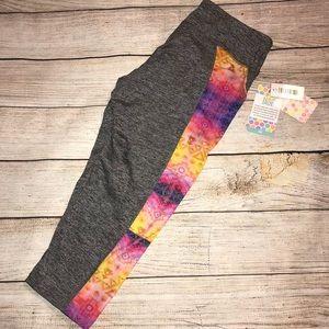 NWT LuLaRoe Jade workout/athletic leggings (gray)