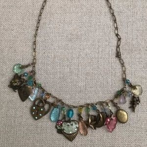 Anthropologie New Orleans Necklace with Charms