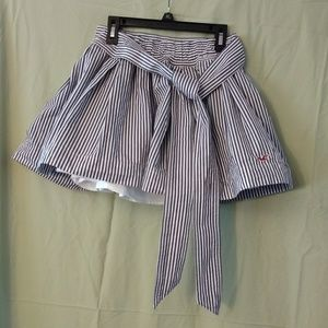 Hollister striped skirt