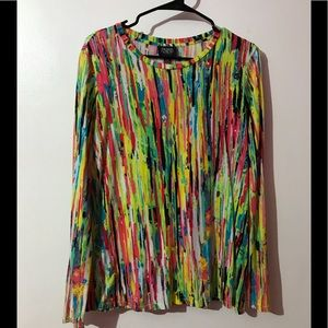 Prabal gurung for target multicolored blouse