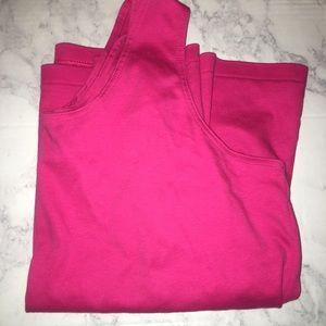 Pink Sleeveless Tank