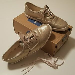 Keds Oxford gold sneakers