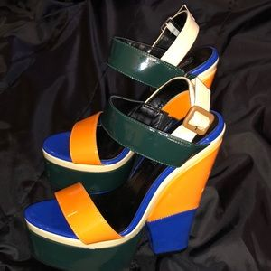 Colorful Wedges (sz. 7)