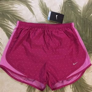 NWT Nike 2 Shades of Pink Workout Dri-Fit Shorts S