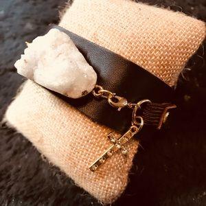 Jewelry - Leather Cuff