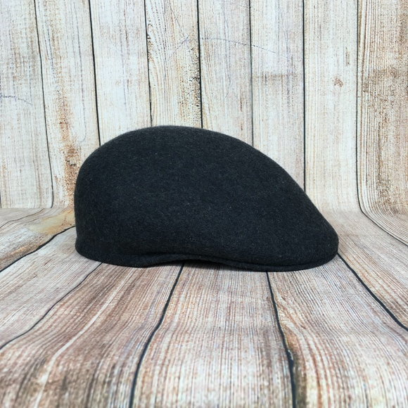 c0a0343e Country Gentleman Accessories   Cuffley Wool Cap In Charcoal   Poshmark