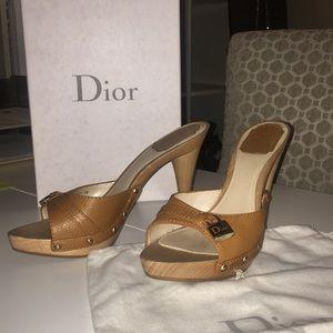 AMAZING Christian Dior slip on pumps