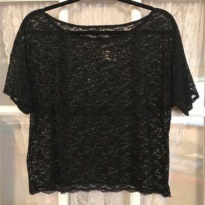 Victoria's Secret lace crop top