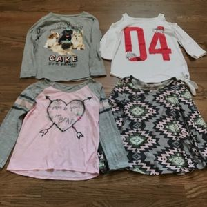 Justice Shirts & Tops - 👚👚Justice long sleeve shirts size 8 bundle 👚👚