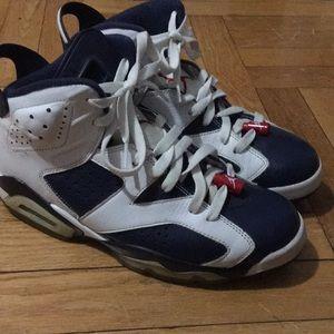 ⏳MENS air Jordan 7 retro olympics 7s