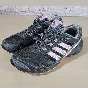 Adidas Speed Grip Gray Trail Running Shoe Sz 8.5
