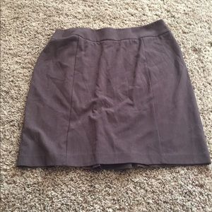 New York and Company back fan slit pencil skirt