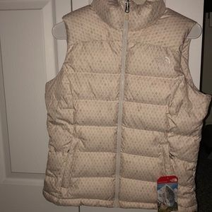 North face outdoor vest