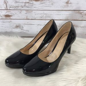 Cole Haan Patent Leather Pumps With Nike Air Soles