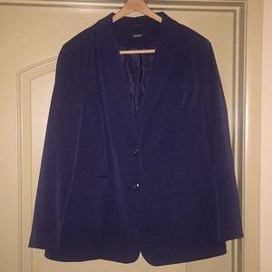 Women's Plus Size Navy Jacket