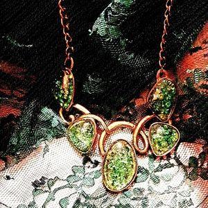 Unique vintage statement necklace