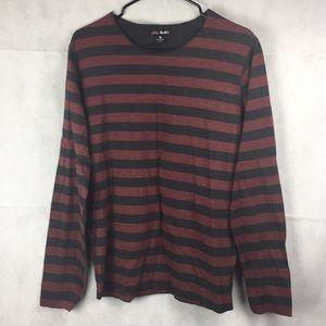 Castro Black Striped Sweater