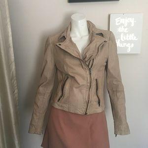 ❄️SALE ❄️Muubaa Kendall Leather Biker Jacket