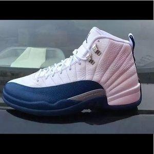 Retro 12s French blue