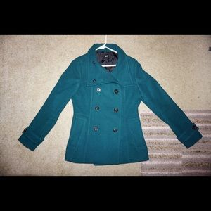 Forest Green H&M Pea Coat