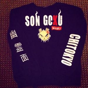 Other - Son Goku crewneck sweater