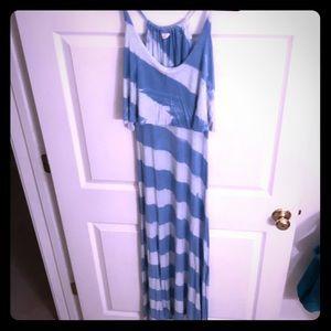 Surf Gypsy Tie-Dye Maxi Dress