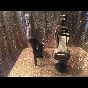 Strappy Platform Shoes