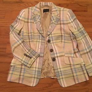 Plaid Women's Blazer