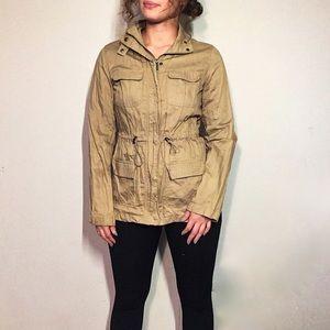 Kenneth Cole Tan Cargo Jacket Size XS